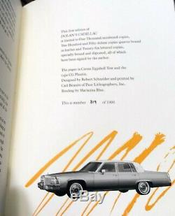 DOLAN'S CADILLAC Stephen King Limited Edition Signed#'d WITH UNCORRECTED PROOF