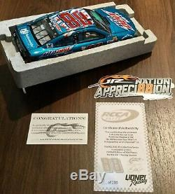 Dale Earnhardt Jr. #88 Mountain Dew-s-a Autographed Rcca Elite Din #1 Of 200