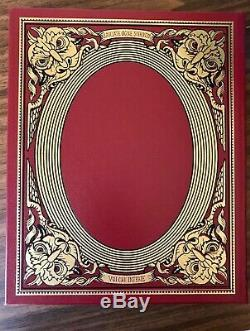 Dante's Inferno Easton Press SIGNED Deluxe Limited Edition 269/1200
