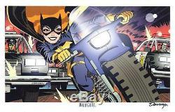 Darwyn Cooke Batgirl Wondercon 2015 Rare Limited Edition Art Print Signed