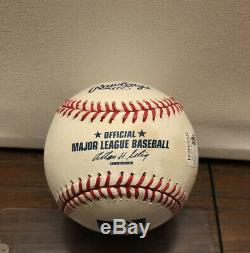 Derek Jeter Autographed Baseball Limited Edition 1/2 With COA