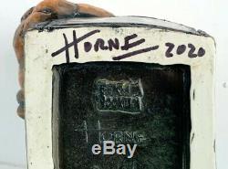 Doug Horne Eekum Bookum Rum Cat Tiki Mug & Shot Glass Limited Edition Signed