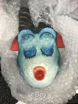 Dr Seuss THEODOR GEISEL Blue Green Abelard Sculpture MAKE OFFER