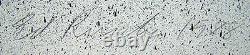 ED RUSCHA Signed 1988 Original Color Lithograph Bailerina