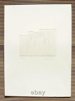 Eduardo Chillida Hand Signed Original Etching 1997