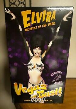 Elvira Signed Vegas Or Bust Limited Edition #119 Out Of #500