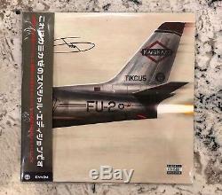 Eminem Kamikaze AUTOGRAPHED Vinyl Night Combat Special Edition Authentic LE 50