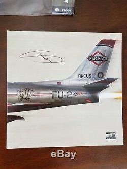 Eminem Kamikaze Signed Autographed Vinyl Night Combat Limited Edition
