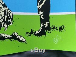 European bob ti double guh hand signed numbered limited edition screenprint