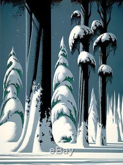 Eyvind Earle Yosemite MAKE OFFER DSS