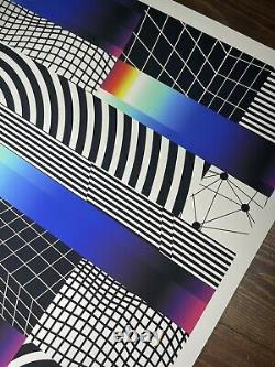 Felipe Pantone CHROMADYNAMICA 21 Art Print Poster Beyond The Streets Signed X250