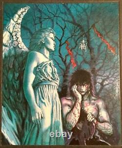 GRAPHITTI DESIGNS THE CROW HARDCOVER SIGNED J O'BARR 647/1500 Limited Edition