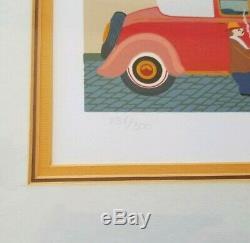 HIRO YAMAGATA ARCHE DE NOE Hand Signed Limited Edition Serigraph #ED /300