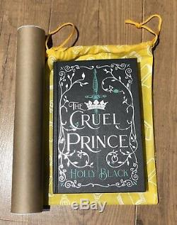 Holly Black The Cruel Prince signed Illumicrate 1st sprayed edges book / Jackets