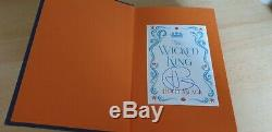 Holly Black The Wicked King Queen of Nothing SIGNED Deluxe Illumicrate Editions