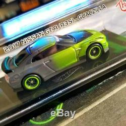 Hot Wheels TANNER FOX AUTOGRAPHED TFOX Nissan GT-R R35 Guaczilla 1 Of 100 Made