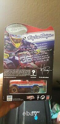 Hot Wheels Troy Lee Designs Texas Drive'EM signed 00333/01100 collectors