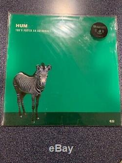 Hum Youd Prefer An Astronaut LP 1995 1st Press Black Vinyl with signed print