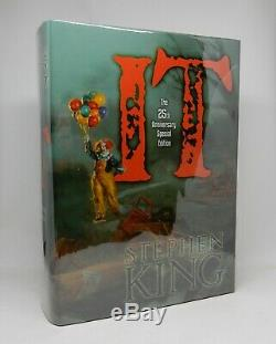 IT Stephen King Cemetery Dance Anniversary Limited Edition Signed 2011