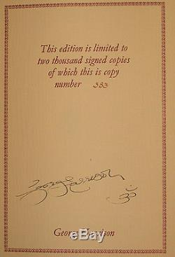 I Me Mine Limited Edition Signed copy Number 383