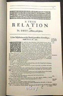 JOHN DEE, OF SPIRITS AND APPARITIONS 500 Copies Leather ENOCHIAN ANGEL MAGICK