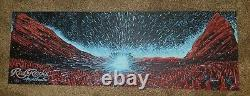 James Eads Red Rocks Limited Edition Print Poster signed & numbered