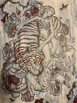 James Jean Tiger III Signed Limited Edition Giclée Art Print