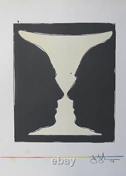 Jasper Johns CUP TWO PICASSO 1973 Plate Signed Lithograph Art XXe Siecle Paris