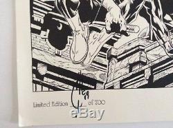 Joe Quesada signed limited edition comic art print 1998 RARE only 700 made
