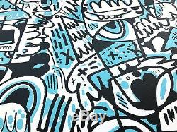 Jon Burgerman Homeslice Signed Limited Edition Print