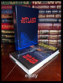 Joyland SIGNED by STEPHEN KING Mint Limited Edition Slipcased Hardback 1/724
