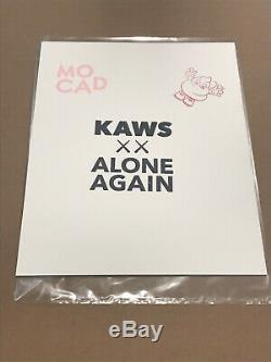 KAWS MOCAD Signed Limited Edition Print BLAME GAME In Hand