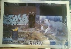KEVIN PETERSON Protector #12 LE Print, Signed, #'d josh keyes jeremy geddes