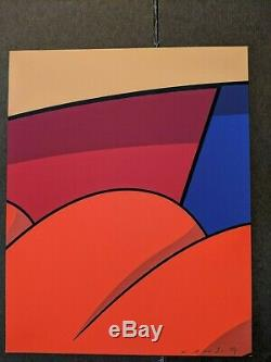 Kaws MOCAD Alone Again Signed Print Poster Limited Edition RARE 2019