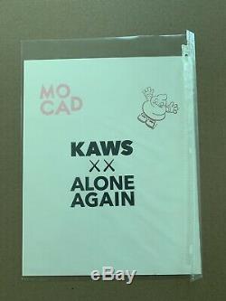Kaws MOCAD Limited Edition Print Poster Companion BFF Signed 2019