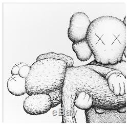 Kaws Ngv Gone Print Signed Numbered Limited Edition Art Book With Screenprint