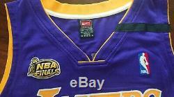 Kobe Bryant 99/00 NBA Finals upper deck signed jersey UDA limited edition /108