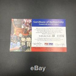 Kobe Bryant Autographed Jersey Number With Jordan Limited Edition 7/10 PSA