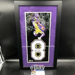 Kobe Bryant Autographed Jersey Number With Jordan Limited Edition 9/10 PSA