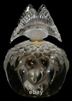 LALIQUE Perfume Bottle (full) 2003 Limited Edition Butterfly LARGE SIZE NIB