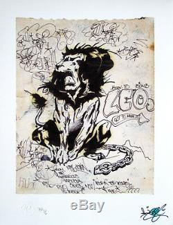 LEE Quinones Lions Den Limited Edition Printt, Graffiti, Not SEEN, COPE2