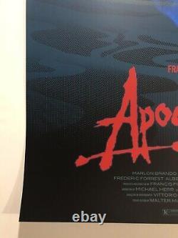 Laurent Durieux Signed Apocalypse Now Signed Mondo Variant Movie Print 4K Jaws