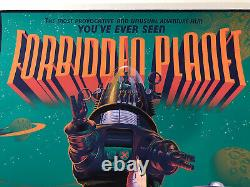 Laurent Durieux Signed Forbidden Planet Mondo Movie Print Poster Jaws One Sheet