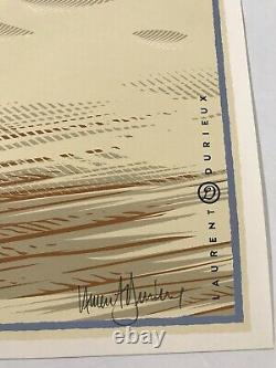Laurent Durieux Signed Jaws Marthas Vineyard Mondo Movie Print Poster Shark Art