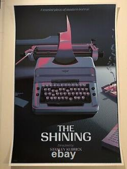 Laurent Durieux Signed The Shining Variant Mondo Art Movie Print Poster 4K Jaws