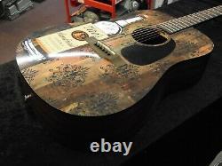 Limited Edition Autographed Titos Vodka Acoustic Guitar