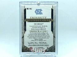 MICHAEL JORDAN 2012-13 EXQUISITE ENDORSEMENTS ON CARD AUTO UNC only 1 PSA graded