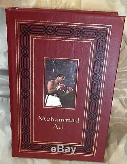 MUHAMMAD ALI, Easton Press Limited Edition, SIGNED
