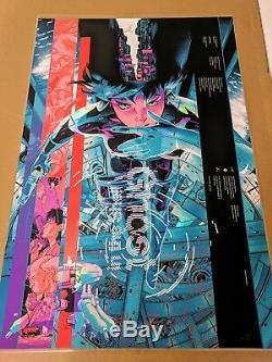 Martin Ansin Ghost in the Shell Foil Variant Mondcon 1 Mondo Screenprint Poster