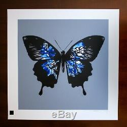 Martin Whatson Butterfly (Blue) Graffitti Prints Limited Edition #/35